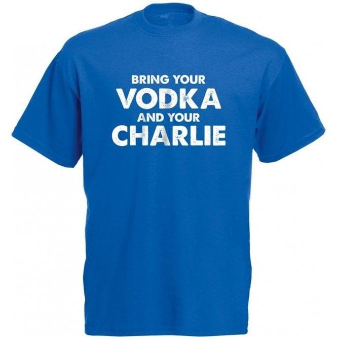 Vodka & Charlie - Jamie Vardy (Leicester City) T-Shirt