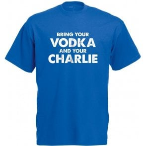 Vodka & Charlie - Jamie Vardy (Leicester City) T-Shirt
