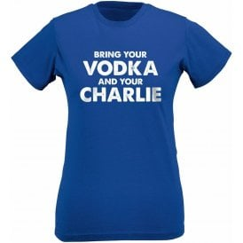 Vodka & Charlie - Jamie Vardy (Leicester City) Womens Slim Fit T-Shirt