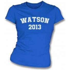 Watson 2013 (Wigan) Womens Slim Fit T-Shirt