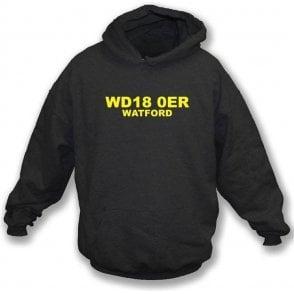 WD18 0ER Watford Hooded Sweatshirt (Watford)