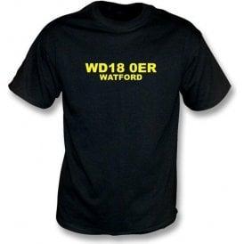 WD18 0ER Watford T-Shirt (Watford)