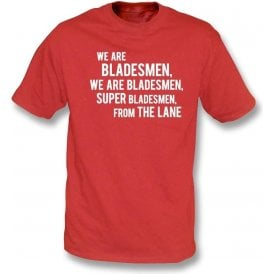 We Are Bladesmen T-Shirt (Sheffield United)