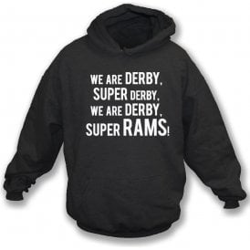 We Are Derby Kids Hooded Sweatshirt (Derby County)