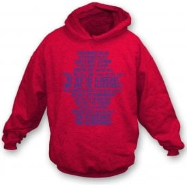 We Are The Aldershot Hooded Sweatshirt