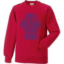 We Are The Aldershot Sweatshirt