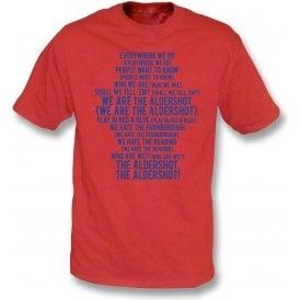 We Are The Aldershot T-Shirt