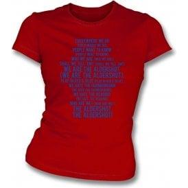 We Are The Aldershot Womens Slim Fit T-Shirt