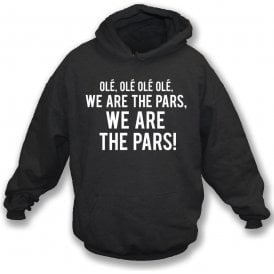 We Are The Pars (Dunfermline) Hooded Sweatshirt