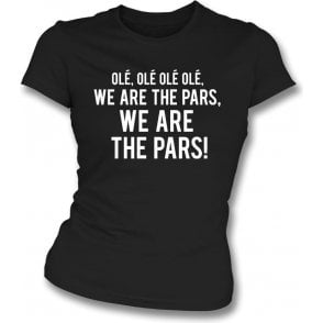 We Are The Pars (Dunfermline) Womens Slim Fit T-Shirt