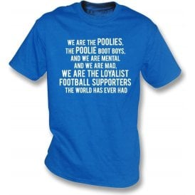 We Are The Poolies (Hartlepool United) T-Shirt