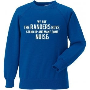 We Are The Rangers Boys Sweatshirt (Queens Park Rangers)