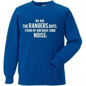 We Are The Rangers Boys Sweatshirt (Queens Park Rangers)