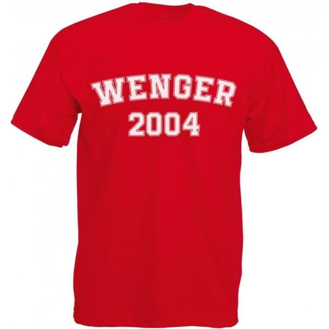 Wenger 2004 (Arsenal) Kids T-Shirt