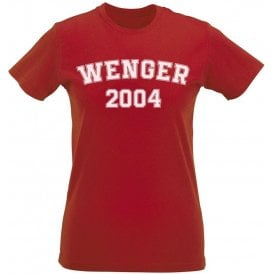 Wenger 2004 (Arsenal) Womens Slim Fit T-Shirt