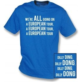 We're All Going On A European Tour T-Shirt (Leicester City)