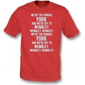 We're The Famous York Kids T-Shirt