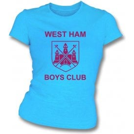 West Ham Boys Club (As Worn By Morrissey, The Smiths) Womens Slim Fit T-Shirt