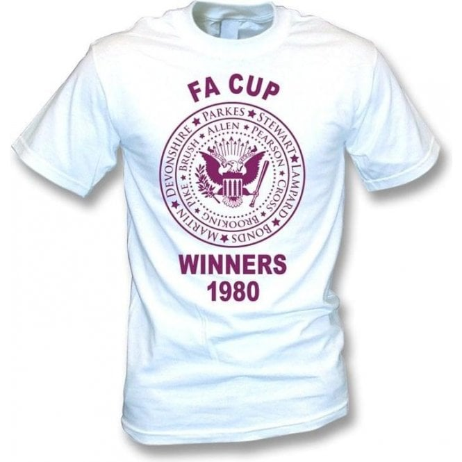 West Ham FA Cup Winners 1980 T-shirt