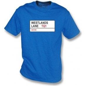 Westlands Lane TQ1 T-Shirt (Torquay United)