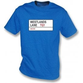 Westlands Lane TQ1 T-Shirt (Torquay United)