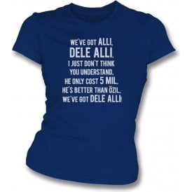 We've Got Dele Alli Womens Slim Fit T-Shirt (Tottenham Hotspur)
