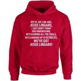 We've Got Jesse Lingard (Manchester United) Kids Hooded Sweatshirt