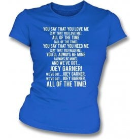 We've Got Joey Garner (Rangers) Womens Slim Fit T-Shirt