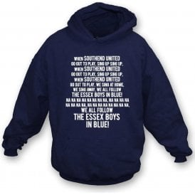 When Southend United Go Out To Play Hooded Sweatshirt