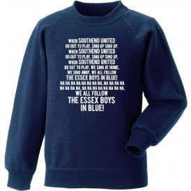 When Southend United Go Out To Play Sweatshirt