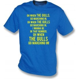 When The Gulls Go Marching In (Torquay United) Kids T-Shirt