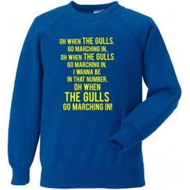 When The Gulls Go Marching In (Torquay United) Sweatshirt