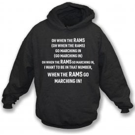 When The Rams Go Marching In (Derby County) Kids Hooded Sweatshirt