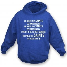 When The Saints Go Marching In (St. Johnstone) Kids Hooded Sweatshirt