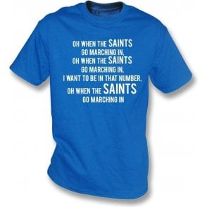 When The Saints Go Marching In (St. Johnstone) Kids T-Shirt