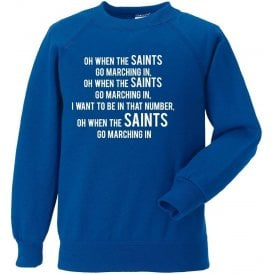 When The Saints Go Marching In (St. Johnstone) Sweatshirt