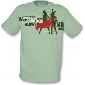 When the whistle blows anything goes! t-shirt