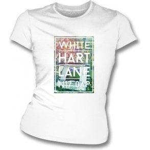 White Hart Lane N17 0AP (Spurs) Women's Slim Fit T-shirt