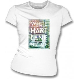 White Hart Lane N17 0AP (Spurs) Women's Slim Fit T-shirt