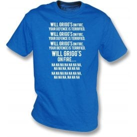 Will Grigg's On Fire Kids T-Shirt (Wigan Athletic)