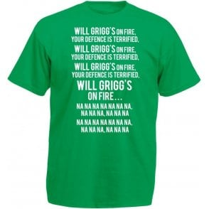 Will Grigg's On Fire T-Shirt (Northern Ireland)