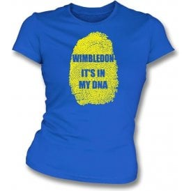 Wimbledon - It's In My DNA Womens Slim Fit T-Shirt