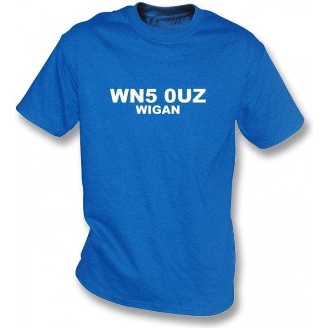 WN5 0UZ Wigan T-Shirt (Wigan Athletic)