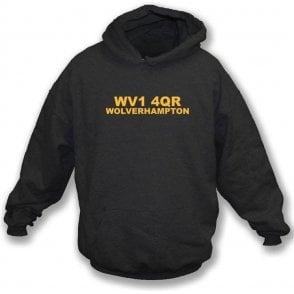 WV1 4QR Wolverhampton Hooded Sweatshirt (Wolves)