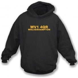 WV1 4QR Wolverhampton Hooded Sweatshirt (Wolves)