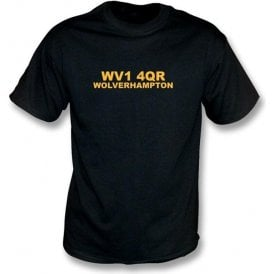 WV1 4QR Wolverhampton T-Shirt (Wolves)