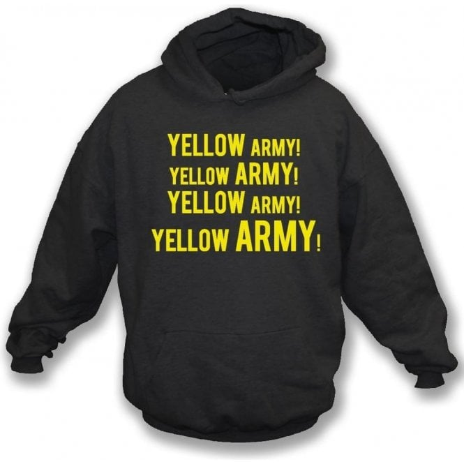 Yellow Army! Hooded Sweatshirt (Burton Albion)