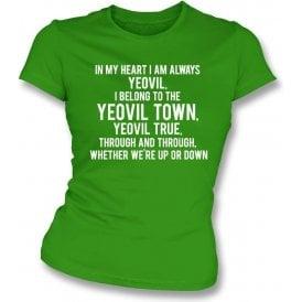 Yeovil True Womens Slim Fit T-Shirt