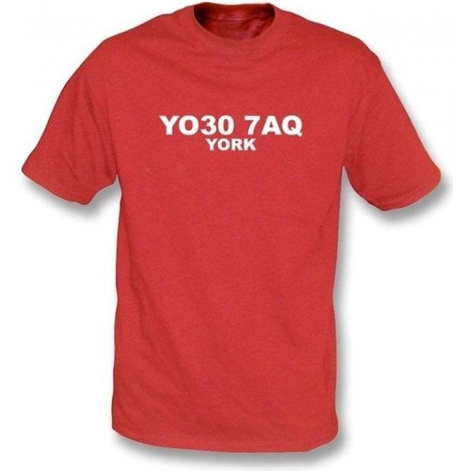 YO30 7AQ York T-Shirt (York City)