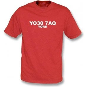 YO30 7AQ York T-Shirt (York City)